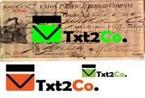 Graphic Design Конкурсная работа №171 для Logo Design for Txt2 Co.