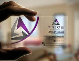 #31 for Design some Business Cards for Trice by Psynsation