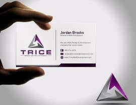 #87 for Design some Business Cards for Trice by Psynsation
