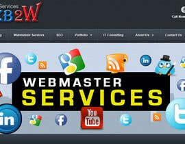 #24 para Design a Banner for website slider - Webmaster Services por Genshanks