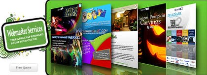 Graphic Design Contest Entry #13 for Design a Banner for website slider - Webmaster Services