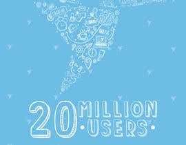 #287 for Design Contest: Freelancer.com Hits 20M Users af hiisham78
