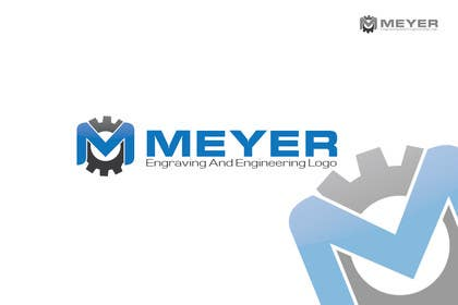 #11 para Meyer Engraving And Engineering Logo por iffikhan