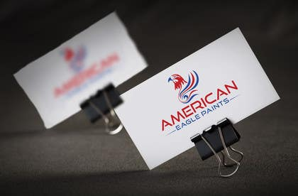 #50 para Design a Logo for AMERICAN EAGLE PAINTS por usmanarshadali