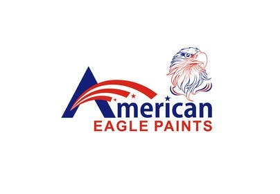 #63 para Design a Logo for AMERICAN EAGLE PAINTS por usmanarshadali