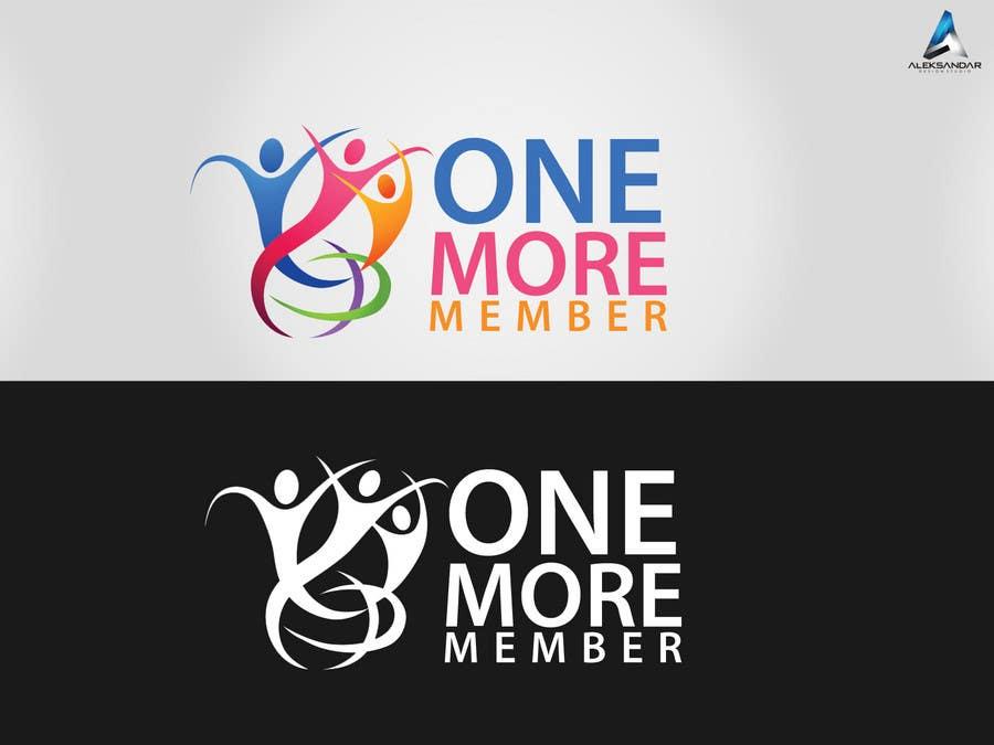 Penyertaan Peraduan #3 untuk Logo Design for One More Member (onemoremember.org)