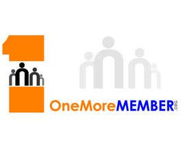 #131 untuk Logo Design for One More Member (onemoremember.org) oleh Muhammadhaneefa