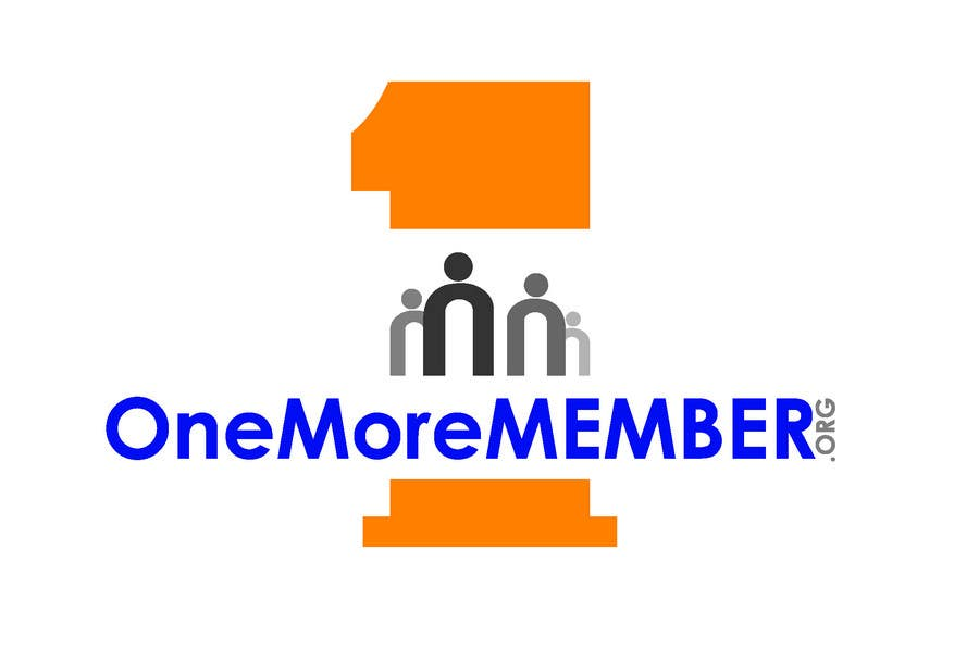 Kilpailutyö #129 kilpailussa Logo Design for One More Member (onemoremember.org)