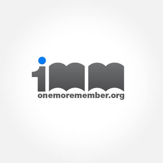 Penyertaan Peraduan #161 untuk Logo Design for One More Member (onemoremember.org)