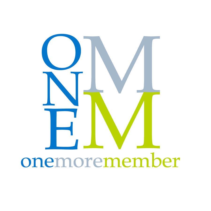 Penyertaan Peraduan #67 untuk Logo Design for One More Member (onemoremember.org)