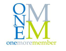 #67 untuk Logo Design for One More Member (onemoremember.org) oleh Adriaticus