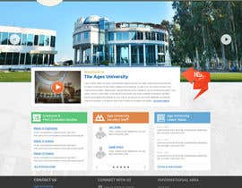 rainbowfeats tarafından Design a Website Mockup for  Education Center için no 15