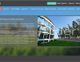 kropekk tarafından Design a Website Mockup for  Education Center için no 2