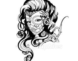 #21 cho Day of the Dead - Sugar Skull Design / Cartoon / Illustration bởi hallowgraphics
