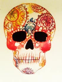 #33 for Day of the Dead - Sugar Skull Design / Cartoon / Illustration by marinaChe