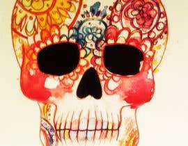 #33 untuk Day of the Dead - Sugar Skull Design / Cartoon / Illustration oleh marinaChe