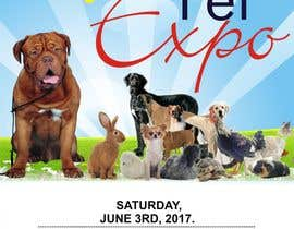 #1 for Design a Flier and Facebook Image for a Pet Expo by dekaszhilarious
