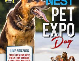 #3 for Design a Flier and Facebook Image for a Pet Expo by akidmurad