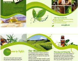 nº 19 pour Design a Brochure for Essential Oil/Aromatherapy par fabrirebo