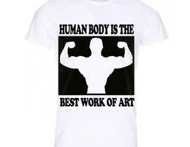 alimohamedrilwa5 tarafından Design a T-Shirt for Dog lovers & Fitness lovers için no 23