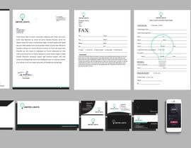 sarfarazk tarafından Design some Stationery for a lighting company için no 6