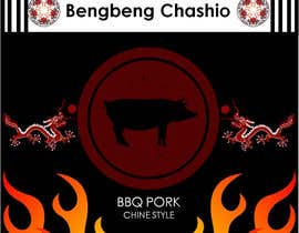 #20 para Design a Logo for chinese bbq pork - repost por dstebitan