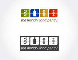 #319 para Logo Design for The Friendly Food Pantry por leochida