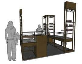 Nro 6 kilpailuun Design a Point of Sale Kiosk for a Jewelry brand mid-price käyttäjältä smoothphrae52