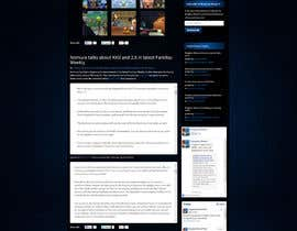 #2 cho Design a Website Mockup for Kingdom Hearts 7 bởi tania06