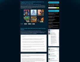 #3 cho Design a Website Mockup for Kingdom Hearts 7 bởi tania06