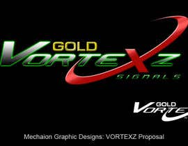 nº 74 pour Design a Logo for VorteXz GOLD Signals par Mechaion