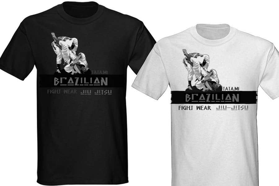 Penyertaan Peraduan #                                        24                                      untuk                                         T-shirt Design for Tatami Fightwear Ltd