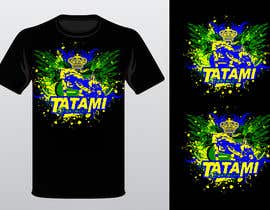 #72 para T-shirt Design for Tatami Fightwear Ltd por Minast