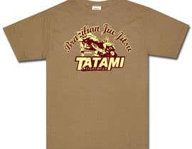 #46 para T-shirt Design for Tatami Fightwear Ltd por Minast