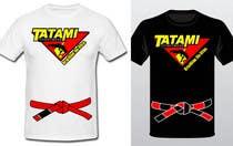 T-shirt Design for Tatami Fightwear Ltd için Graphic Design18 No.lu Yarışma Girdisi