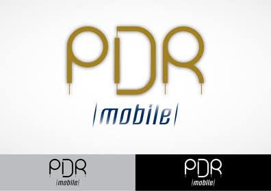 #116 for Design a Logo for PDR Mobile by rapakousisk