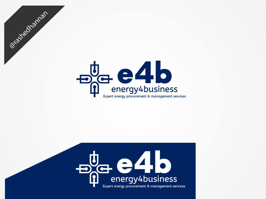 #357 for Design a Logo for e4b by rashedhannan