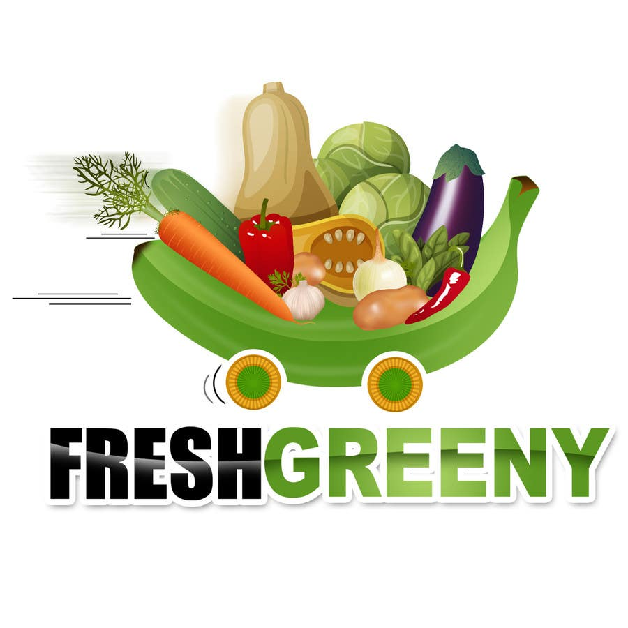 Contest Entry #                                        36                                      for                                         Design a Logo for our Vegetable shop
