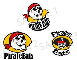 "nº 16 pour Design a Logo for ""Pirate"" themed food blog. Argggh! par kaizendesigns"