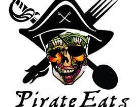 "nº 7 pour Design a Logo for ""Pirate"" themed food blog. Argggh! par dejassekar"