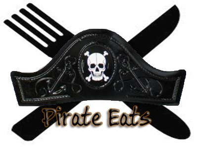 "#24 for Design a Logo for ""Pirate"" themed food blog. Argggh! by Zark02"