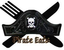 "nº 24 pour Design a Logo for ""Pirate"" themed food blog. Argggh! par Zark02"