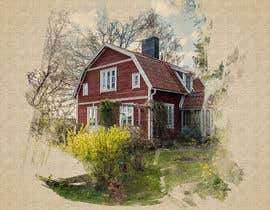 #6 for Design a picture with a typical Swedish house and surroundings by STARK2016