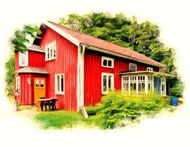 #22 for Design a picture with a typical Swedish house and surroundings by EstefanPortu