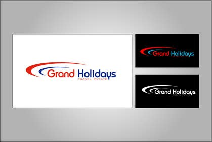 #17 for Design a Logo for travel company 'Grand Holidays Travel Pvt. Ltd.' by Remon1199