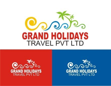 Konkurrenceindlæg #7 for Design a Logo for travel company 'Grand Holidays Travel Pvt. Ltd.'