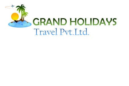 #18 for Design a Logo for travel company 'Grand Holidays Travel Pvt. Ltd.' by ioska