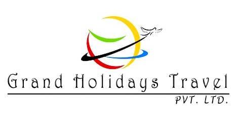 Konkurrenceindlæg #4 for Design a Logo for travel company 'Grand Holidays Travel Pvt. Ltd.'