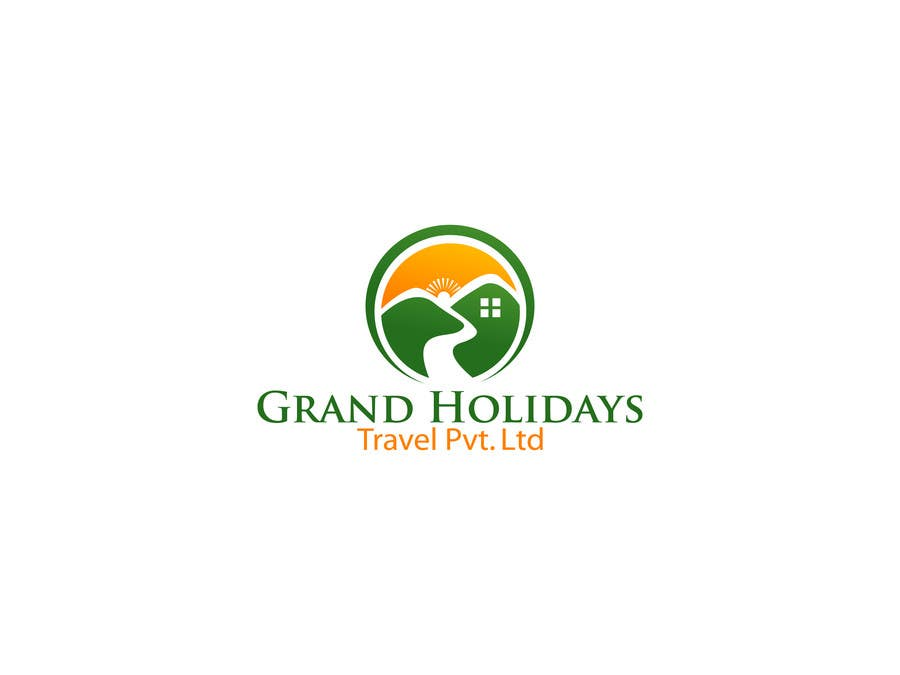 #32 for Design a Logo for travel company 'Grand Holidays Travel Pvt. Ltd.' by texture605
