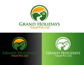 #33 untuk Design a Logo for travel company 'Grand Holidays Travel Pvt. Ltd.' oleh texture605